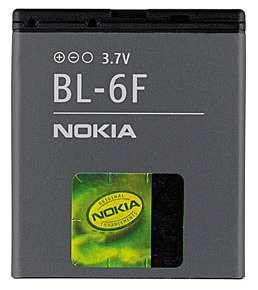 Akku Nokia Original BL-6F für 6788, 6788i, N78, N79, N95 8GB