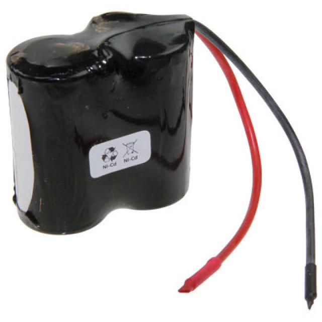 Akkupack für Notbeleuchtung 2.4V, F1x2 Saft, C (Baby), VNT C mit Kabel, 2,5Ah