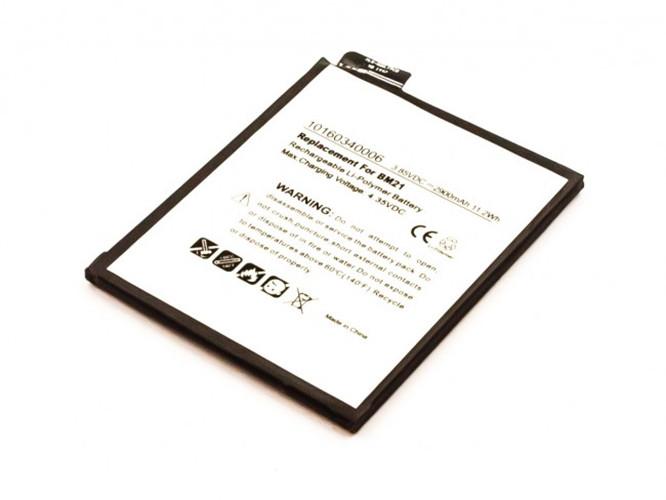 Akku für Xiaomi Mi Note, wie BM21