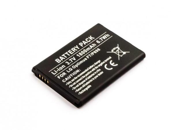 Akku für LG L90, F260, 3D Cube SU870, Bello, G3 Beat, Optimus F7, Optimus L8, P698, wie BL-54SH