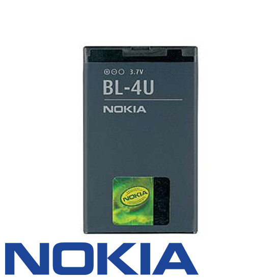 Akku Nokia original BL-4U für 3120c, 5330, 5530 XpressMusic, 6600 slide, 8800 Arte, C5-03, E66, E75