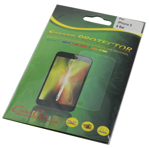 Displayschutzfolie für iPhone 5/5S, iPhone SE Front+ Rückseite, 6 Folien Fron...