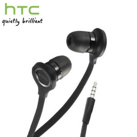 Headset original HTC RC-E190, 3,5 mm Klinkenstecker, schwarz