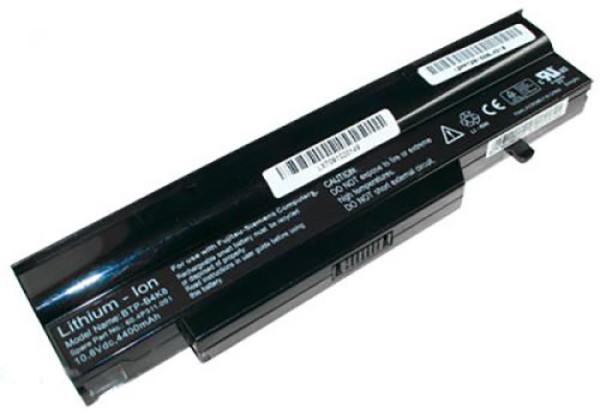Akku für Fujitsu Siemens Amilo LI718, LI2735, Amilo PRO V3405, wie BTP-B4K8, BTP-B7K8, 4400mAh