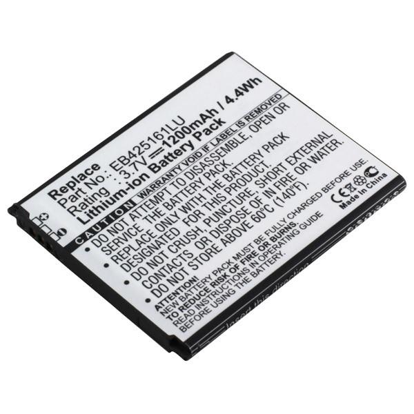Akku für Samsung Galaxy Ace 2 I8160, Galaxy S III Mini i8190, Galaxy S Duos S...