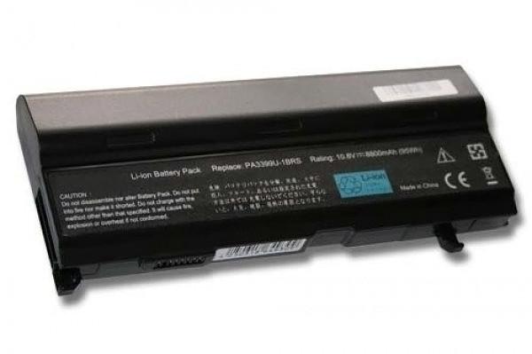 Hochleistungs-Akku für Toshiba Satellite M40, wie K000021220, PA3399, PA3399U-2BAS, 8800 mAh