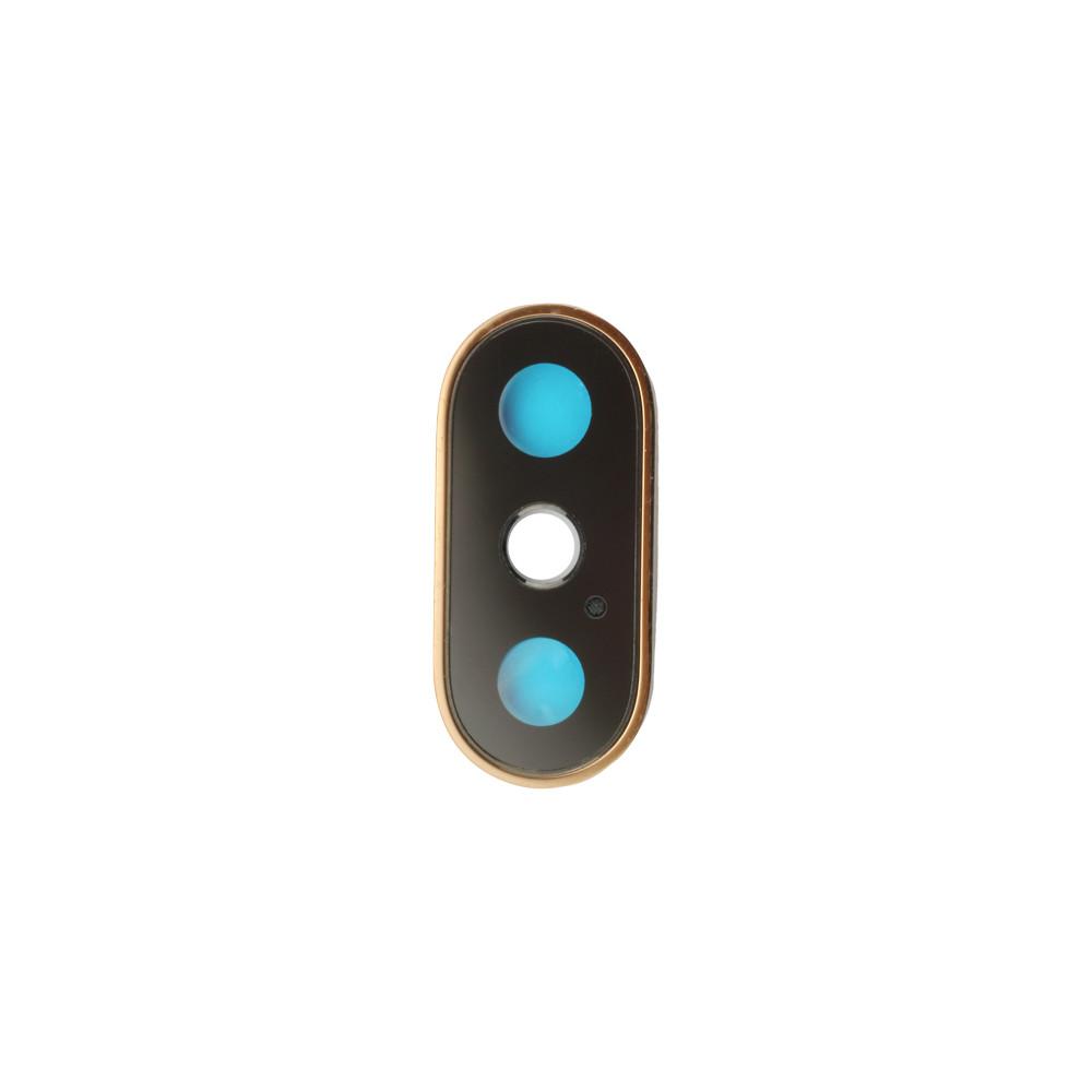 Apple Rücken- /Hauptkameralinsen mit Rahmen für iPhone XS/XS Max, gold