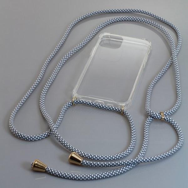 Umhängetasche Neck-Case mit Kordel für Apple iPhone 11 Pro aus flexiblem TPU,...