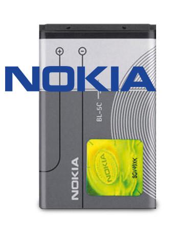 Akku Nokia original BL-5C für 6230i, 1101, 1108, 1200, 2310, 2600, 3650, 6600, C1, C2, E60, N70, X2