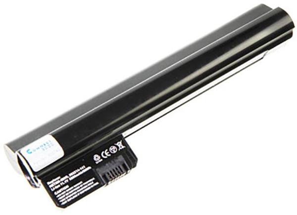 Akku für Hewlett-Packard Mini 210 HD, 2102, wie AN03, AN06, 582213-121, 4400mAh, 10.8V, Li-Ion