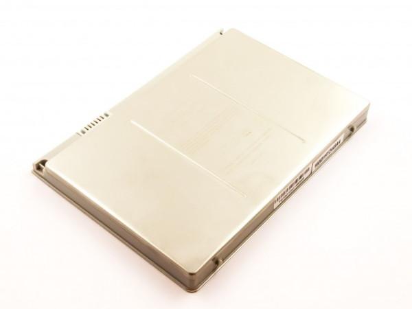 "Akku für Apple Macbook Pro 17"", MA092, MA611, MA897, MB166, wie A1189, MA458, 6600mAh"