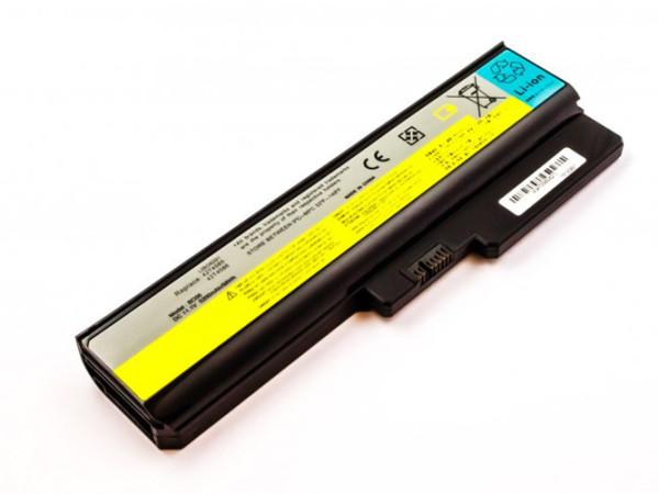 Akku für Lenovo 3000 B460, B550, G450, G550, N500, Ideapad B460, V460, Z360, wie LO806D01, 6000 mAh