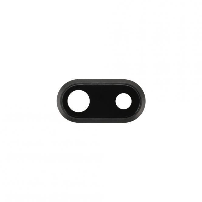 Kamera-Linse mit Rahmen fĂĽr iPhone 8 Plus, schwarz