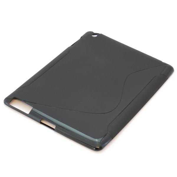 Rückschale für Apple iPad 3, TPU, schwarz