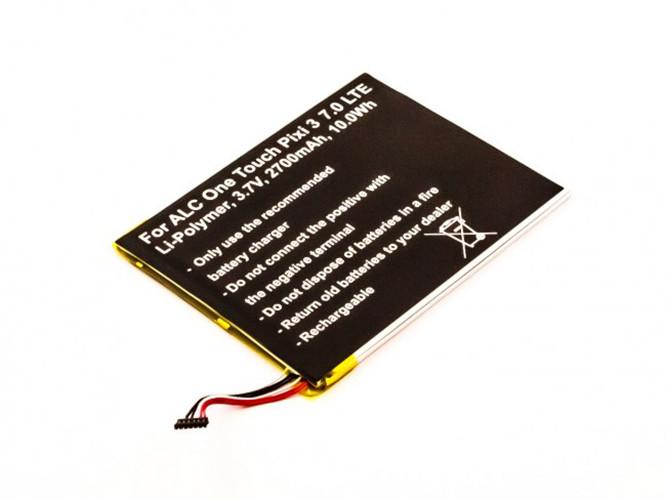 Akku für Alcatel One Touch Pixi 3 7.0 4G, Pixi 3 7.0 LTE, wie TLP028A2