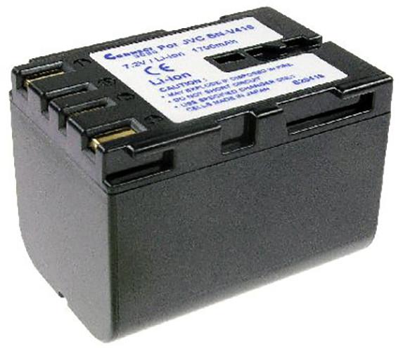 Akku wie JVC BN-V416, anthrazit