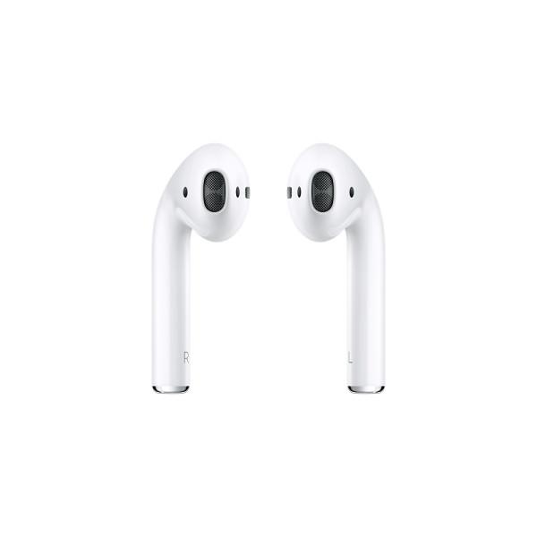 Apple AirPods 2.Gen. - kabellose Bluetooth Kopfhörer / Headsets für iPhone, iPod, iPad, mit Ladecase
