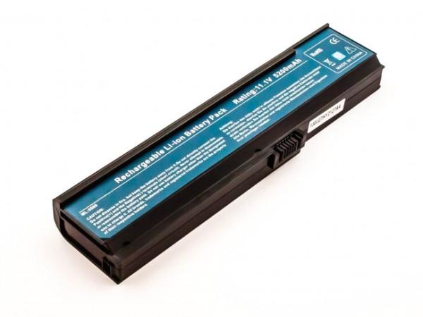 Akku für Acer Aspire 3030, 3050, 3600, 5500, 5580, TravelMate 2400, wie Q20168, 5.200 mAh, 11.1V